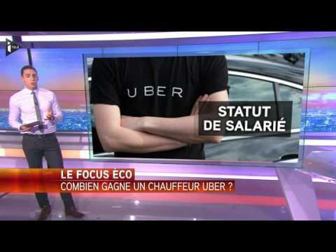 Combien gagne un chauffeur Uber ?