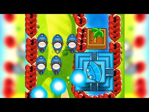 I played CURSED bloons td battles...