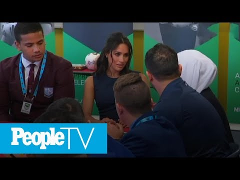 Day Four Of Prince Harry And Meghan Markle's Tour Down Under | PeopleTV