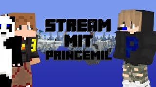 Minecraft Stream mit Pringemil #002