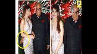 Boney Kapoor's video of slapping Urvashi Rautela's butt at Akshay Gada's Wedding Reception
