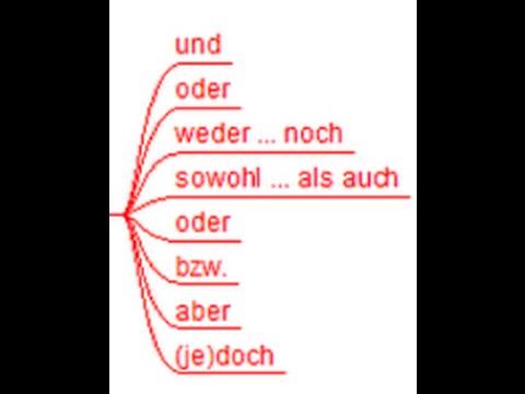 Pin Von Valeria Auf German Gramatik Konjunktionen