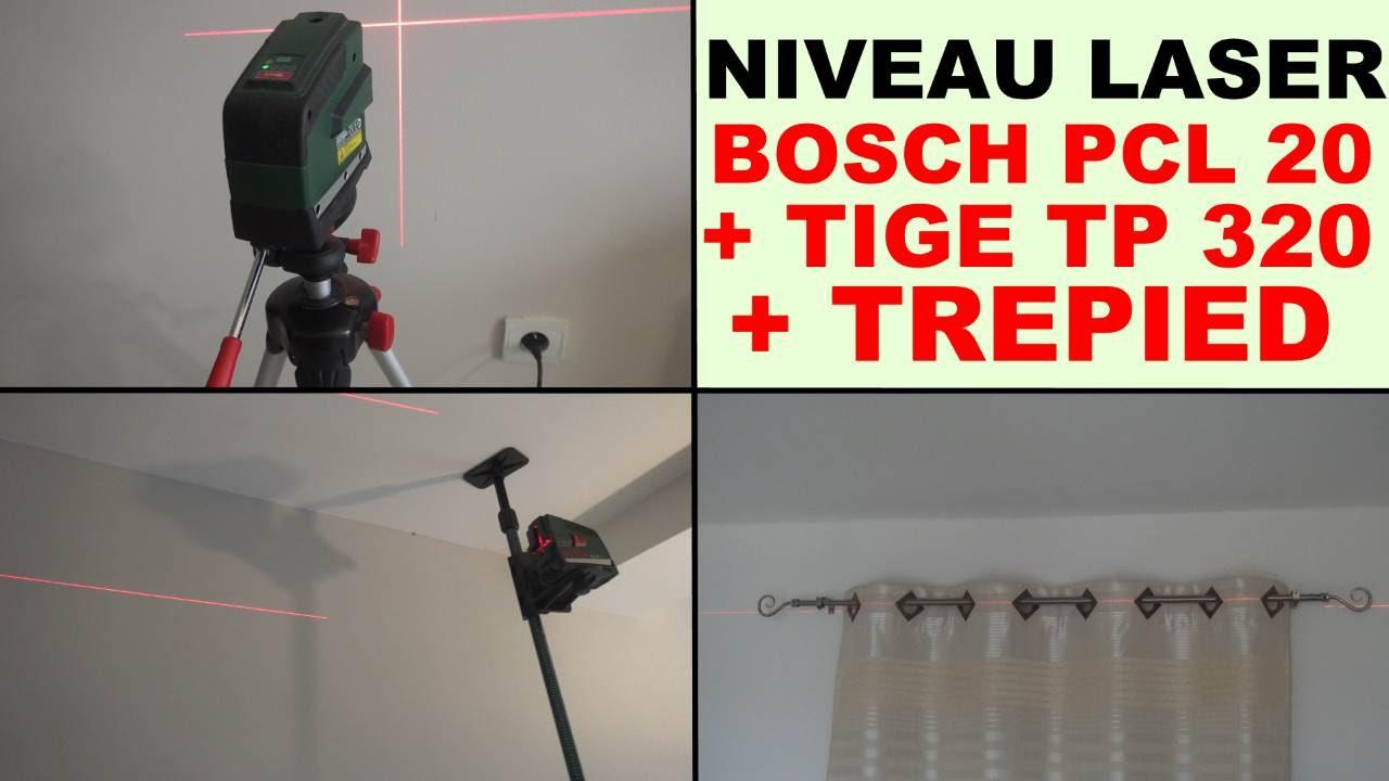 bosch pcl 20 niveau laser tige t lescopique tp 320 bosch
