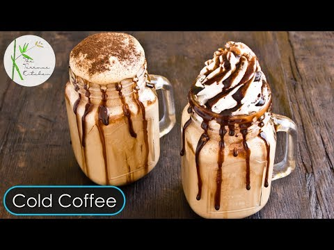 Cold Coffee Recipe | Thick & Creamy Cold Coffee at Home | Coffee Milkshake ~ By The Terrace Kitchen