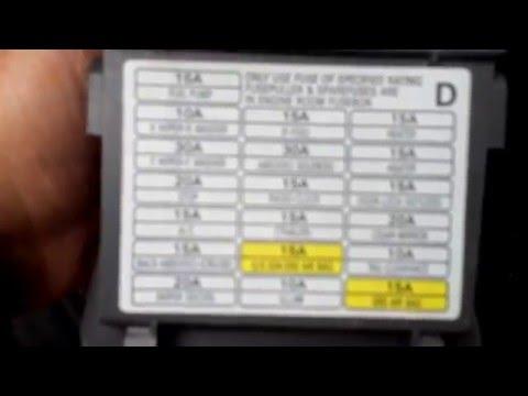 2004 Subaru Legacy Fuse Box Location - YouTubeYouTube