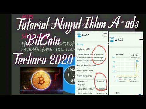 Tutorial Cara Melakukan Nuyul Iklan A-ads (Bitcoin) Dengan Aman Dan Besar Sekali Impress || Terbaru