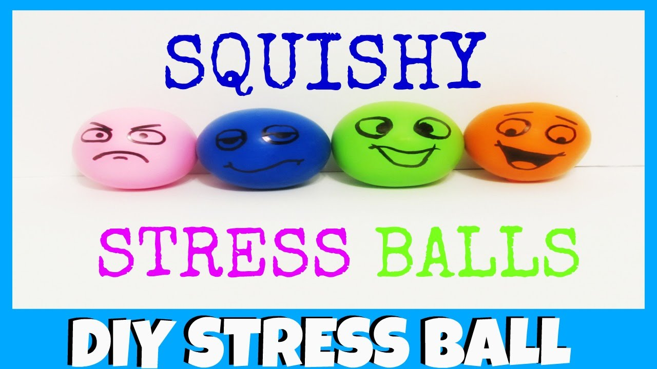 Diy Squishy Balloon : DIY Balloon Squishy Stress Balls - YouTube