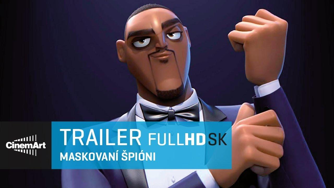 Maskovaní špióni (2019) oficiálny HD trl # 3 [ SK DAB ]
