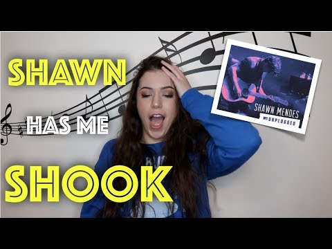 REACTING TO SHAWN MENDES LIVE MTV UNPLUGGED ALBUM
