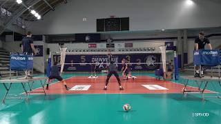 Entraînement du Paris Volley