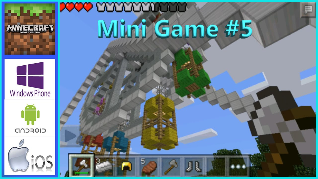 Minecraft PE портируют на Windows Phone