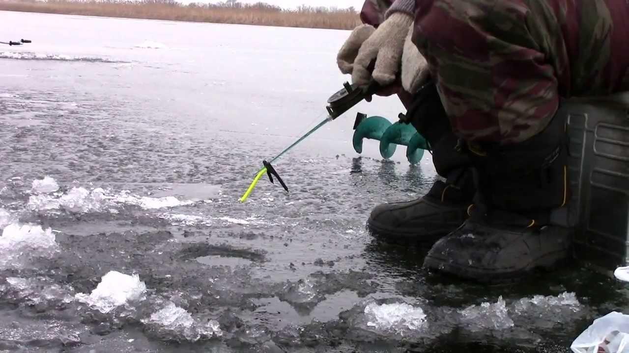 рыбалка в первый мороз