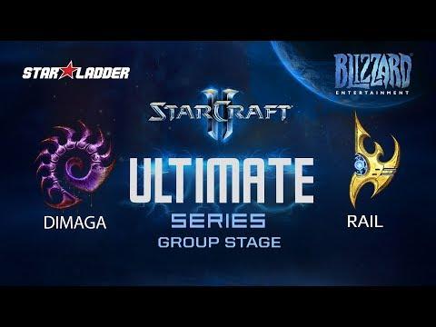 Ultimate Series: DIMAGA (Z) vs Rail (P)