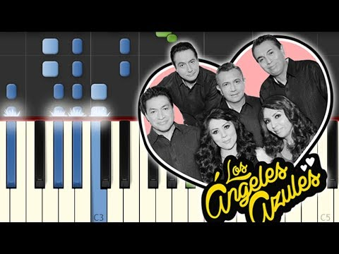 17 Años / Angeles Azules / Piano Tutorial