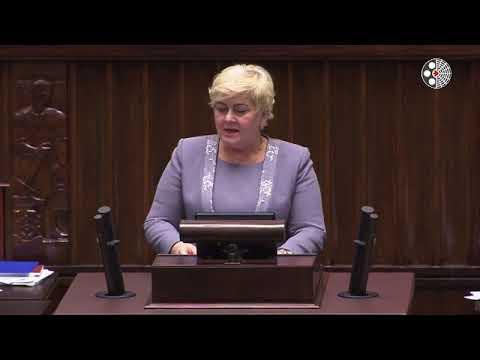 Małgorzata Pępek – wystąpienie z 6 lutego 2018 r.