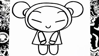 como dibujar a pucca | how to draw pucca