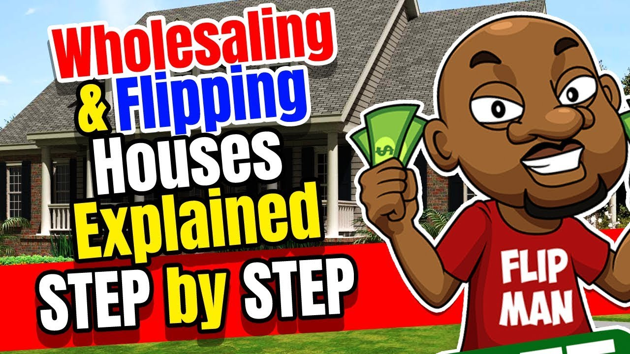 Wholesaling Houses Explained Step By Step In This Video  Wholesaling Real  Estate