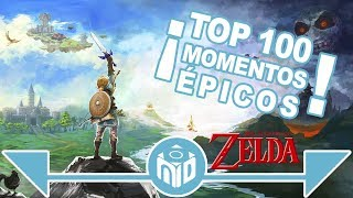 100 MOMENTOS ÉPICOS de The Legend of Zelda - TRAILER