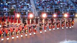 Edinburgh Military Tattoo 2012 -  Massed Pipes and Drums (2 of 3)