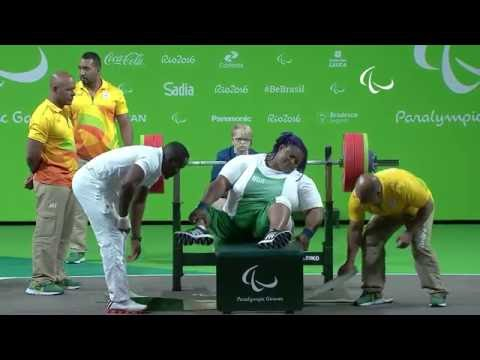 Video: The moment Paralympian Orji won gold for Nigeria