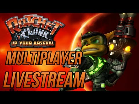 Ratchet and Clank 3 HD Collection: Up Your Arsenal - Multiplayer