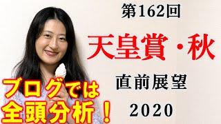 【競馬】天皇賞秋 2020 直前展望 (全頭分析はブログで!) ヨーコヨソー