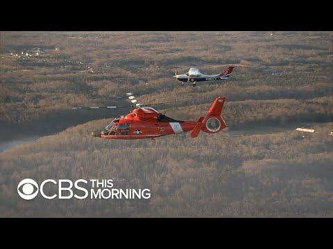 Coast Guard's agile Blackjack unit intercepts potential threats in D.C. sky