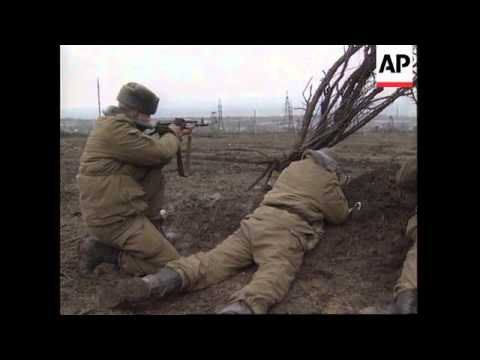 RUSSIA: RUSSIAN ARMY DEVASTATING CHECHNYA CAPITAL GROZNY