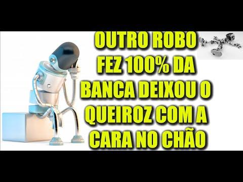 OUTRO ROBÔ FEZ 100% DA BANCA DEIXOU O QUEIROZ COM A CARA NO CHÃO