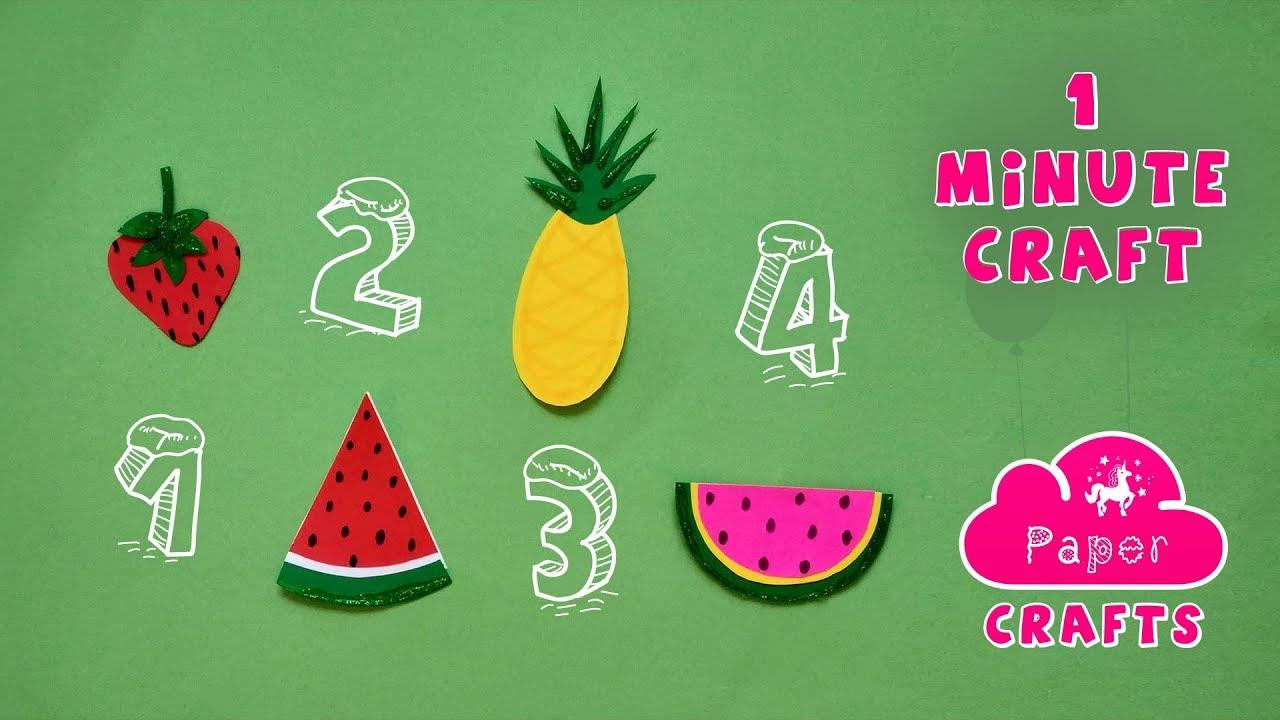 Download Easy Origami Paper Fruits Veggie Crafts Kid