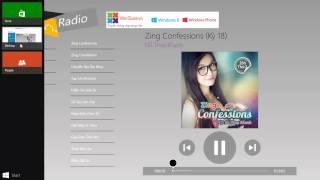 WinStore.vn | Review ứng dụng Zing Radio trên Windows 8