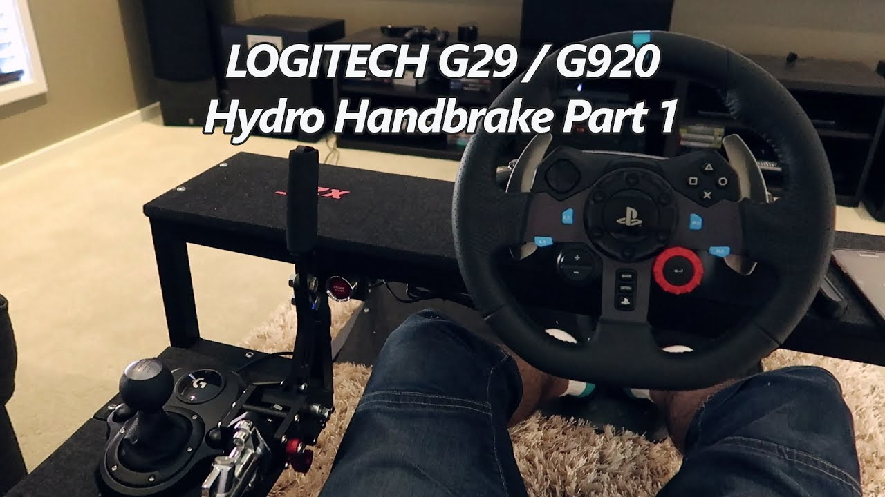 Logitech G29 G920 External Handbrake Pt 1 Youtube