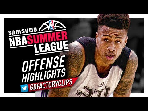 John Collins CRAZY Offense Highlights (2017 Summer League) - Atlanta Hawks Debut!