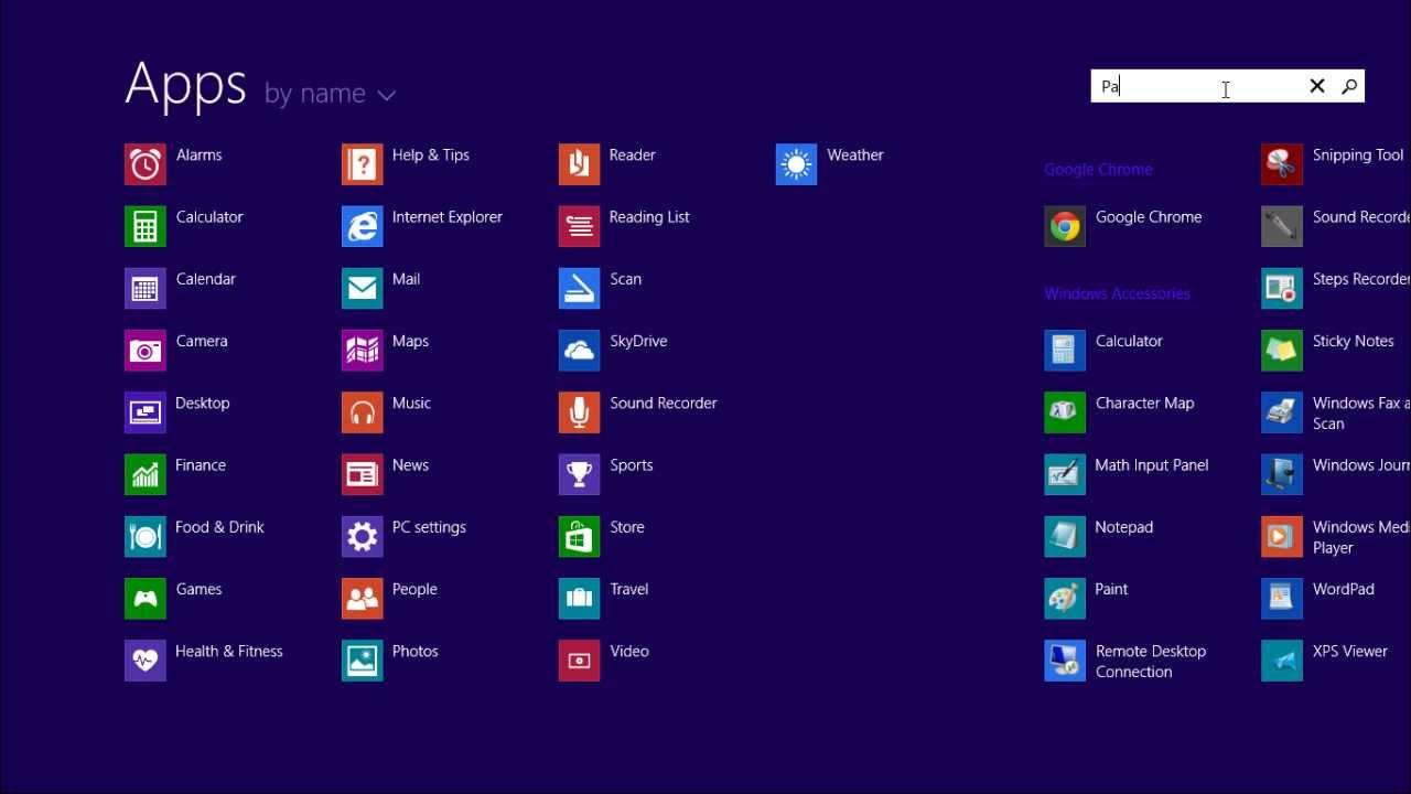 windows 8 1 apps