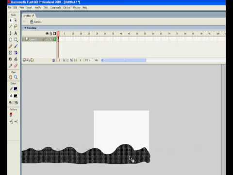 Tutorials >> getting_started: flash mx 2004 layers and animation.