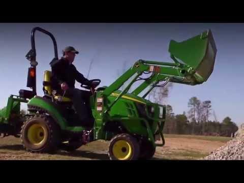 John Deere 1025R 25-HP Sub-Compact Utility Tractor