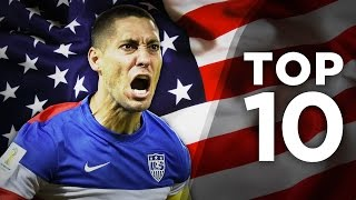 Top 10 American Exports | Dempsey, Pulisic & Howard!