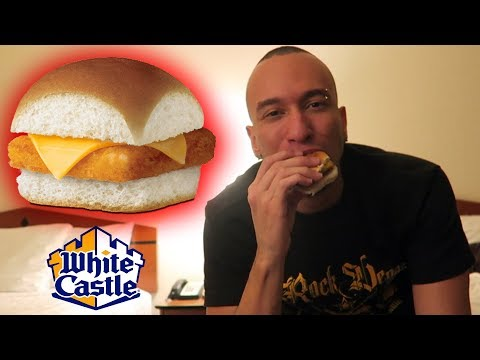 Trying White Castle Fish Slider