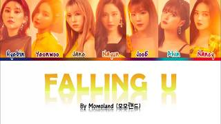[2.63 MB] 'Falling U' - Momoland (모모랜드) Color Coded Lyrics (Han/Rom/Eng)