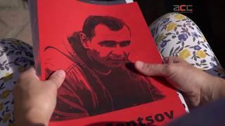 Акцію на підтримку українського режисера у День його народження провели в Чернівцях