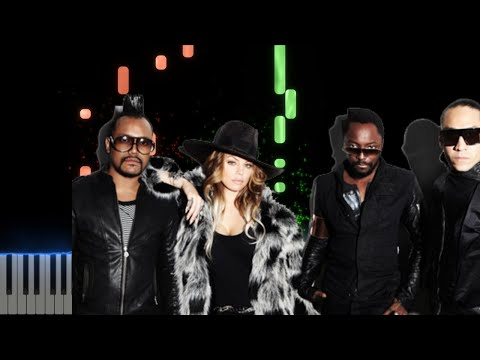 Black Eyed Peas El Alfa - NO MAÑANA  Piano Cover Midi tutorial Sheet app  Karaoke