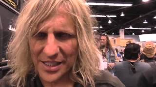 namm 2014 young guitar with c c deville c c デヴィル