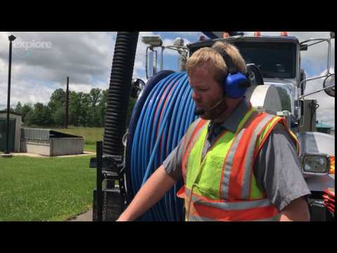 Televising & Jetting the Sanitary Sewer Mains in Marshfield