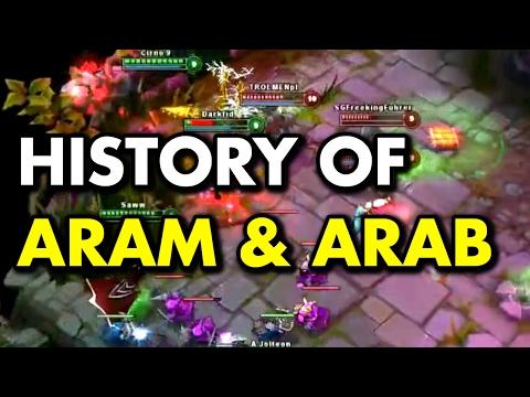 History of ARAM & ARAB (League of Legends)