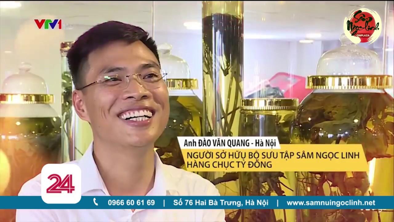 Anh Đào Văn Quang quyết theo đuổi niềm đam mê với Sâm Ngọc Linh - ĐT:02436.555.888