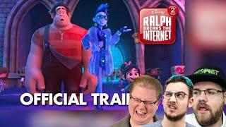 React: Ralph Breaks the Internet: Wreck-It Ralph 2 Official Trailer