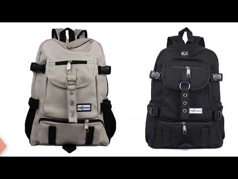 Best Stylish backpack 2018 | Select The Right School Bag Under 15$ |