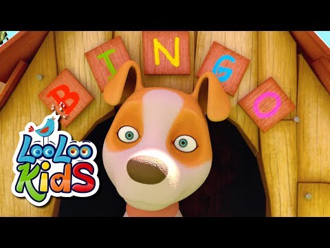 BINGO - THE BEST Song for Children   LooLoo Kids