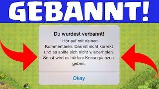 ICH WURDE GEBANNT! - Ende von Clash of Clans! [Android/iOS/PC]