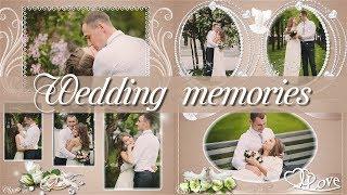 Свадебные воспоминания | Wedding memories | Free project for ProShow Producer